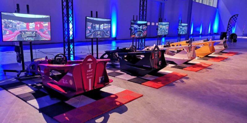 simulator mit lenkrad