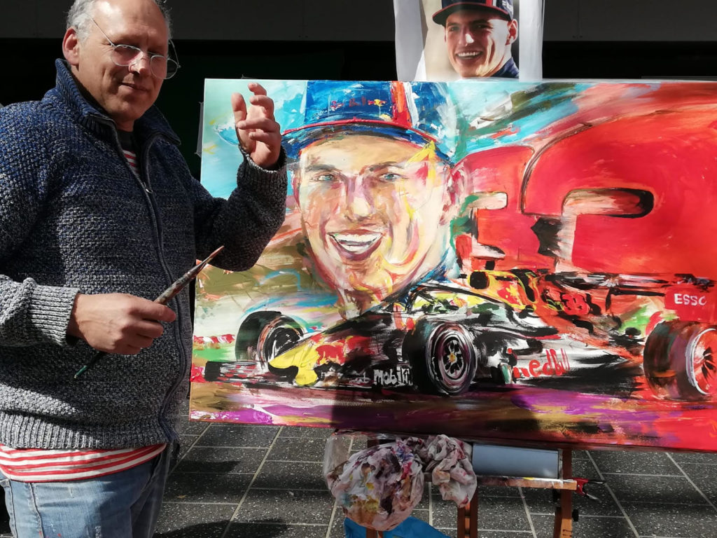 formel 1 painting